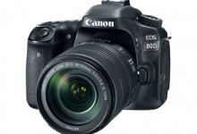 Novinka od Canonu – nový APS-C model Canon 80D