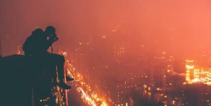 Mladí newyorští fotografové zachycují své město z velice netradičních míst
