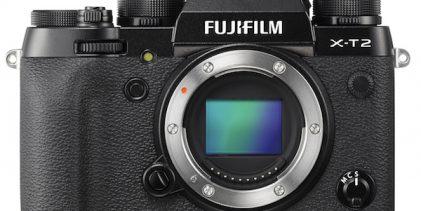 Nový firmware pro Fuji X-T2 je k dispozici