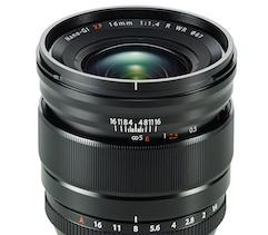 Fujifilm představil objektiv Fujinon XF 16mm F/1.4 R WR