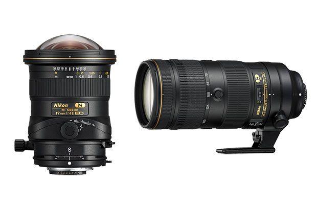Nikon představil nové objektivy: AF-S 70-200mm f/2.8E FL ED VR a PC 19mm f/4E ED Tilt-Shift